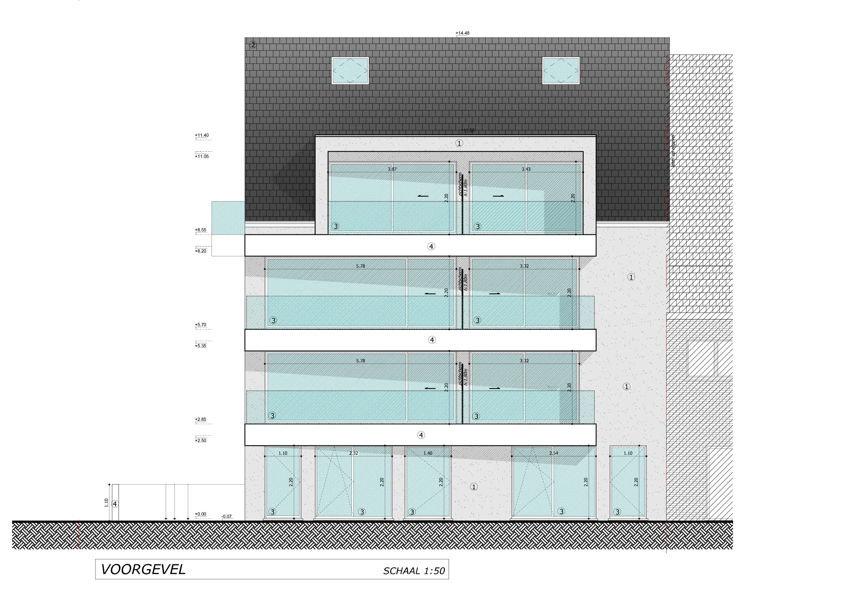 Nieuwbouwappartement met berging en parking te huur - 7083