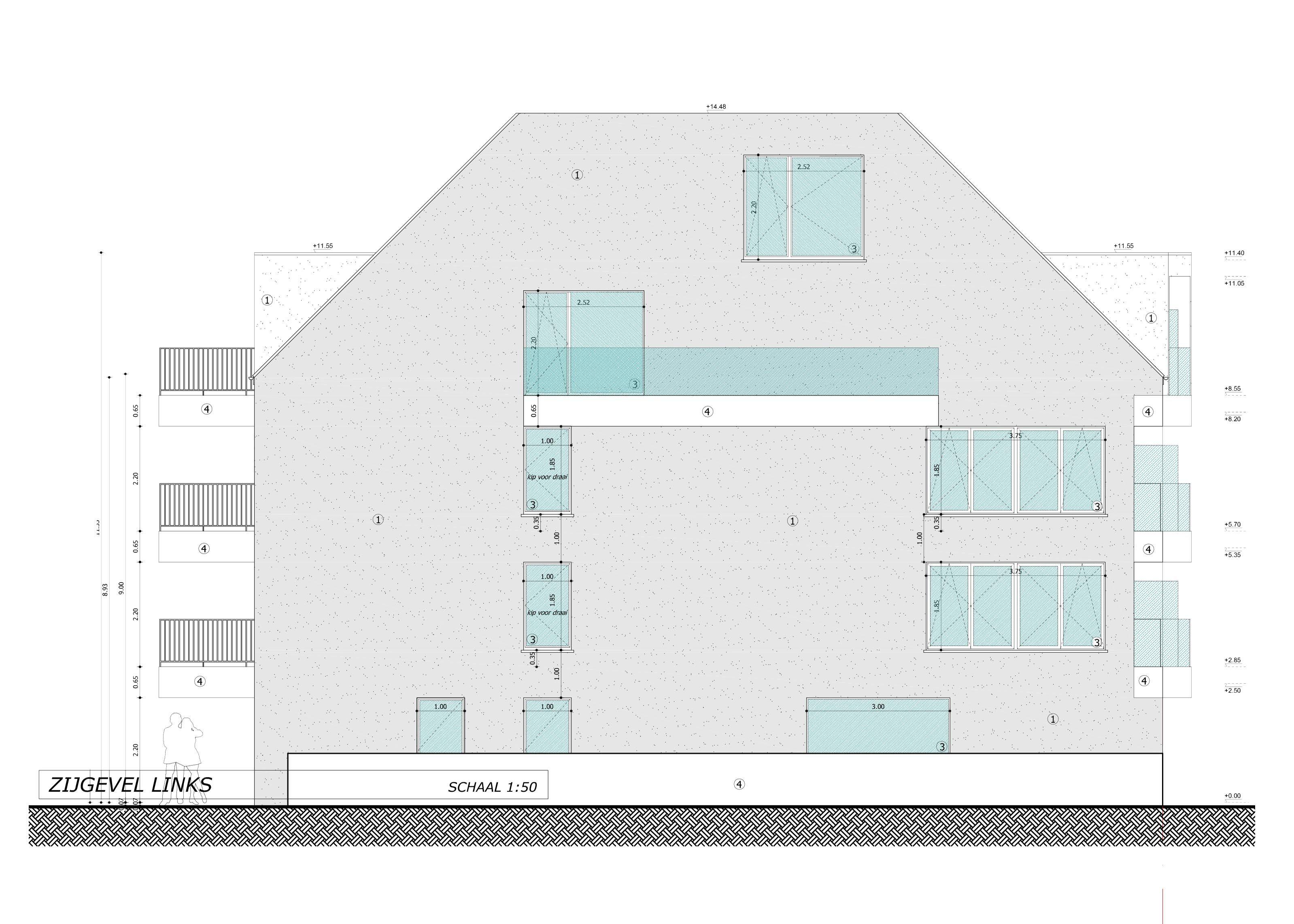 Nieuwbouwappartement met berging en parking te huur - 7084