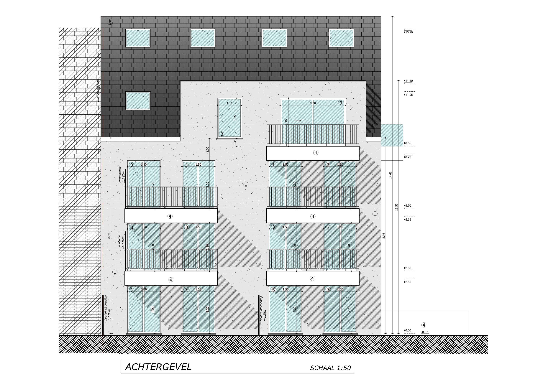 Nieuwbouwappartement met berging en parking te huur - 7087