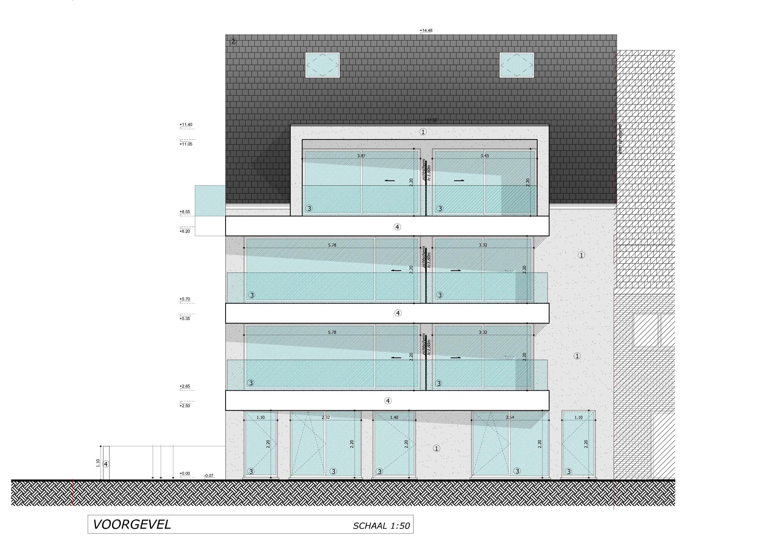 Nieuwbouwappartement met berging en parking te huur - 7088