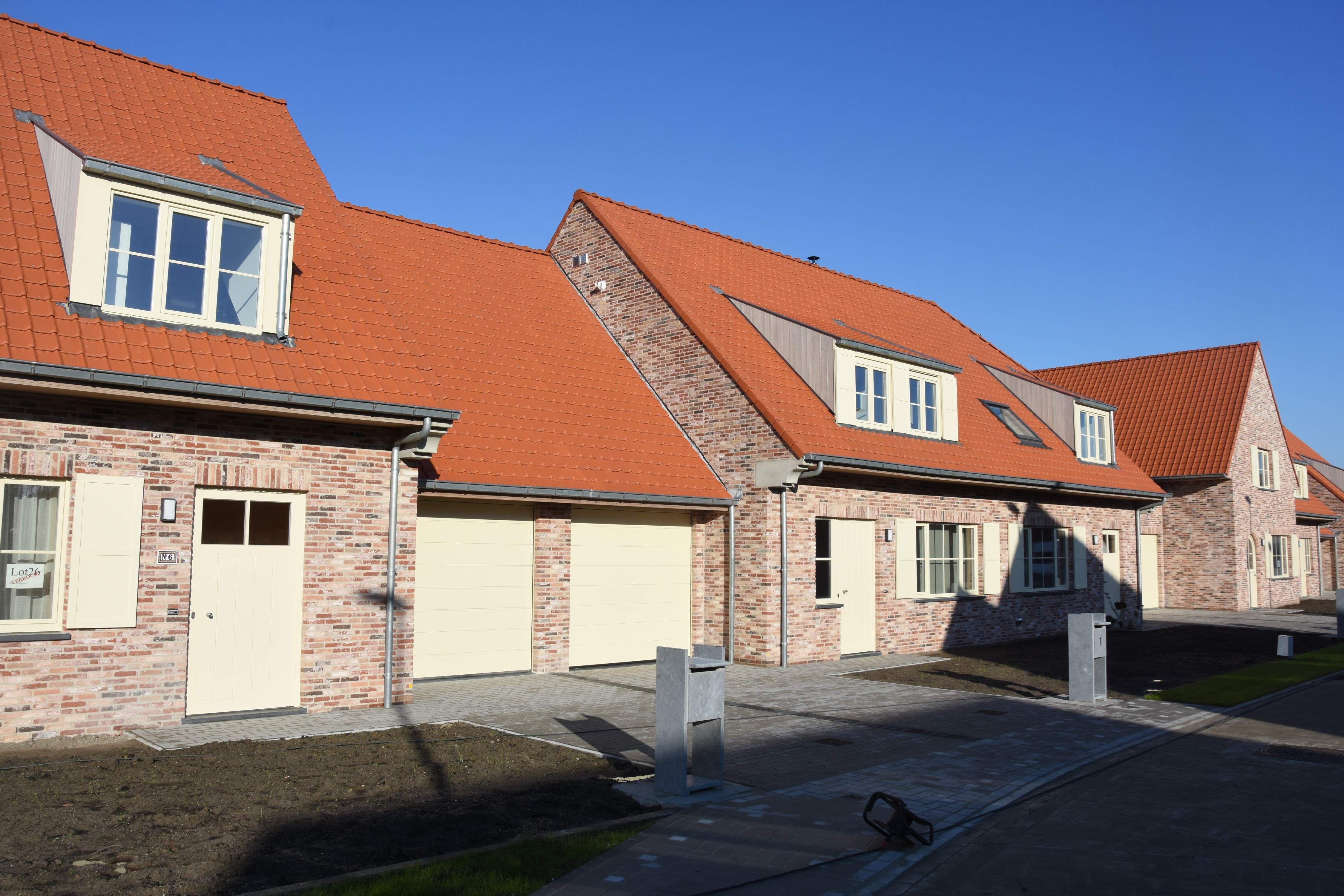 Nieuwbouw woning Gustaaf Buffelstraat Nieuwpoort