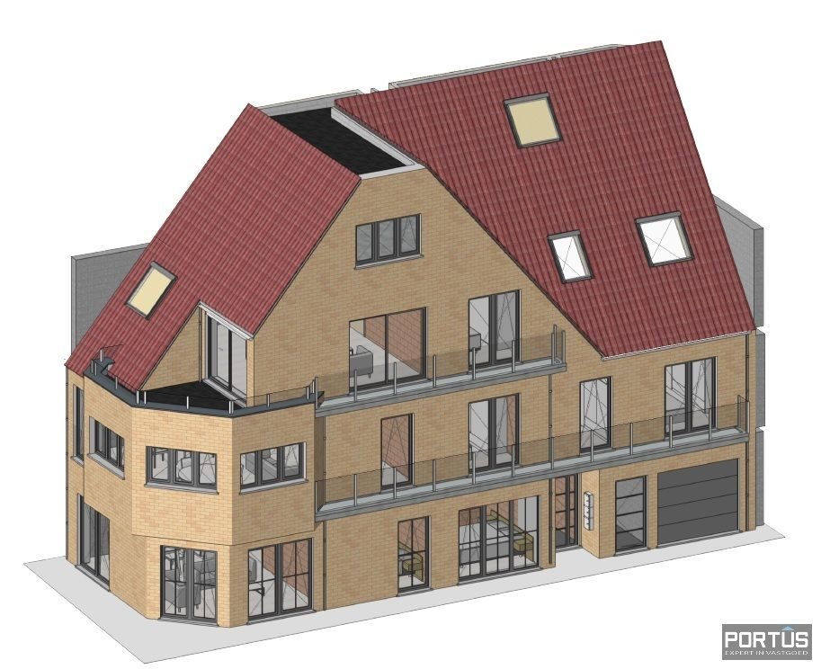 Appartement met 2 slaapkamers en grote zolderruime te koop Nieuwpoort