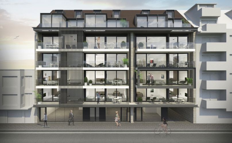 Duplex-appartement met 2 slaapkamers 8677