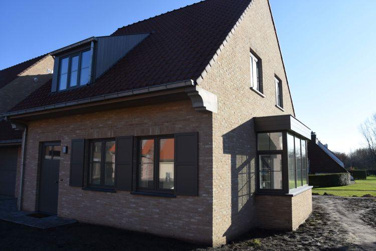 Nieuwbouw woning Gustaaf Buffelstraat Nieuwpoort 8764