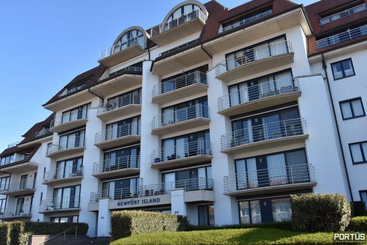 Appartement met slaapkamer, slaaphoek en parking te huur Nieuwpoort 9532