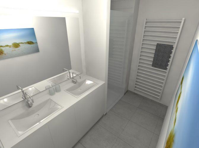 Nieuwbouwappartement met 2 slaapkamers te huur - 10524