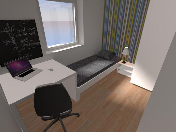 Nieuwbouwappartement met 2 slaapkamers te huur - 10526