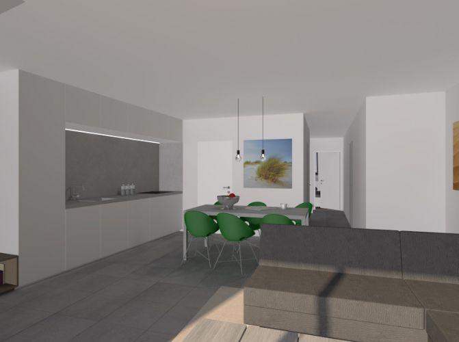 Nieuwbouwappartement met 2 slaapkamers te huur - 10530