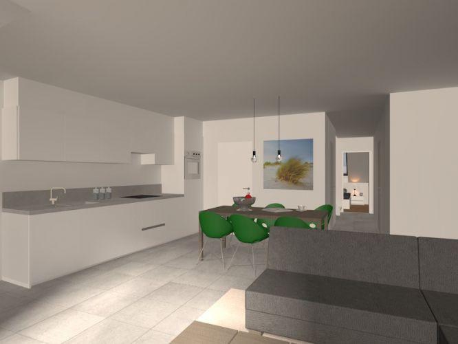 Nieuwbouwappartement met 2 slaapkamers te huur - 10532