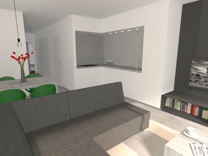 Nieuwbouwappartement met 1 slaapkamer te huur - 10544