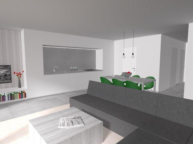 Nieuwbouw duplex appartement met 2 slaapkamers te huur - 10588
