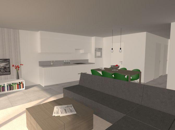 Nieuwbouw duplex appartement met 2 slaapkamers te huur - 10593