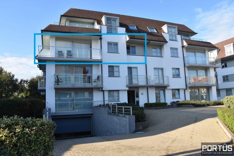 Hoekappartement met 2 slaapkamers te huur in Nieuwpoort - 10644