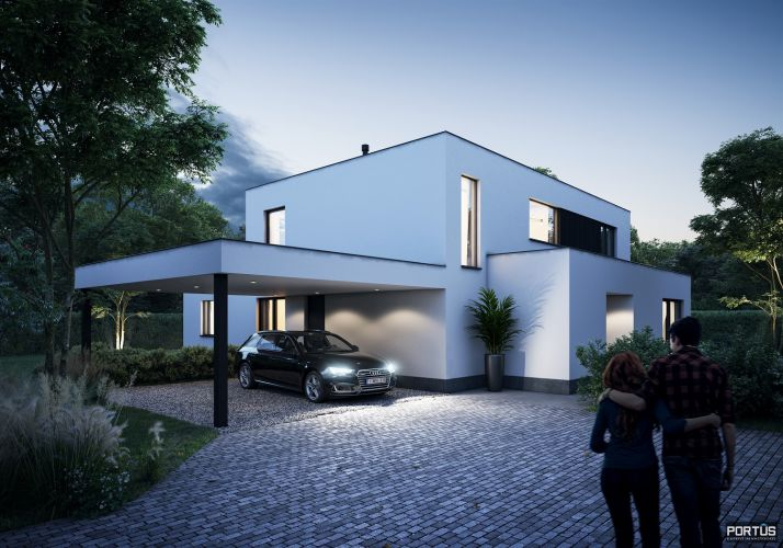 Energiezuinige nieuwbouwvilla te koop met 4 slaapkamers 11543
