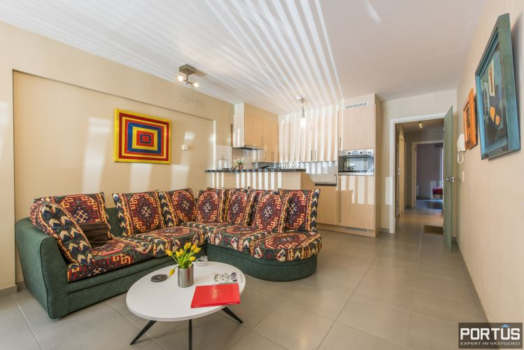 Instapklaar gelijkvloers appartement met 2 slaapkamers te huur te Nieuwpoort  11735