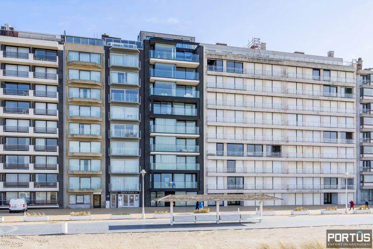 Recent appartement te koop te Nieuwpoort met frontaal zeezicht 13052