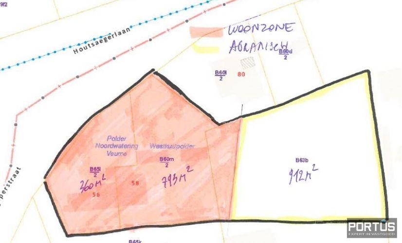 Uniek perceel grond te koop te Koksijde 14007
