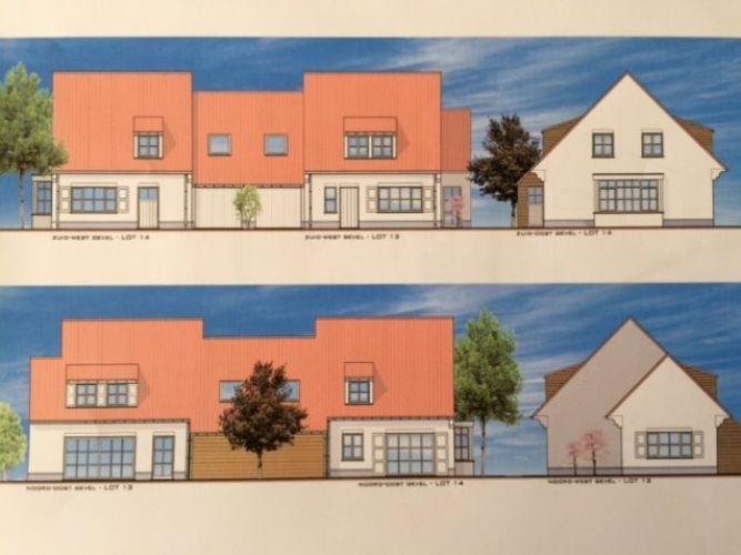 Nieuwbouwvilla's in de Simli wijk van Nieuwpoort 1441