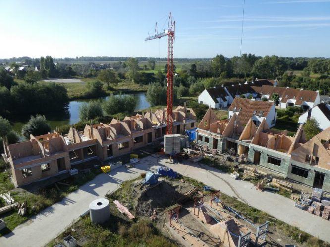 Nieuwbouw woning Gustaaf Buffelstraat Nieuwpoort 2515