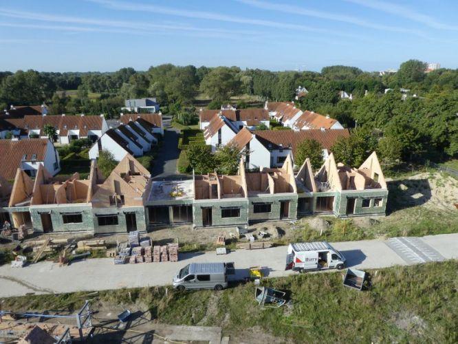Nieuwbouw woning Gustaaf Buffelstraat Nieuwpoort 2519