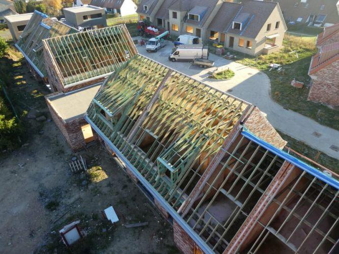 Nieuwbouw woning Gustaaf Buffelstraat Nieuwpoort 2545