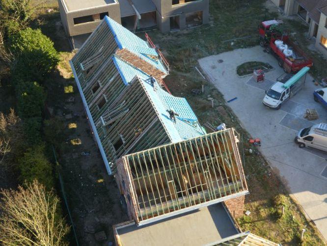 Nieuwbouw woning Gustaaf Buffelstraat Nieuwpoort 2555