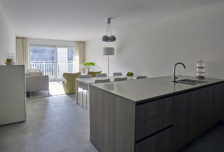 Zongericht appartement met terras te koop Nieuwpoort 5485