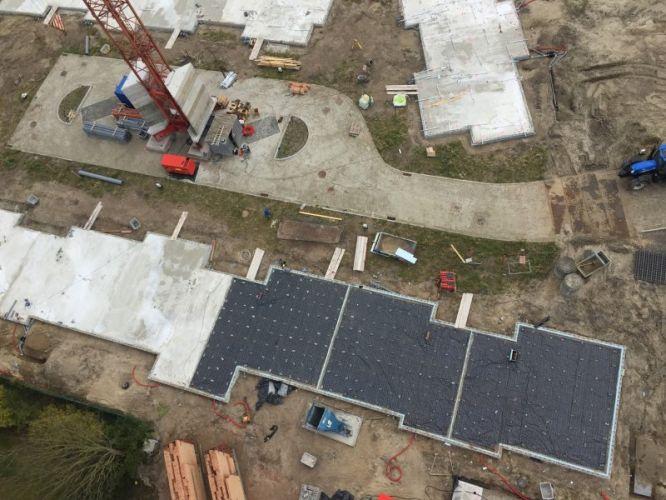 Nieuwbouwvilla's in de Simli wijk van Nieuwpoort 5102