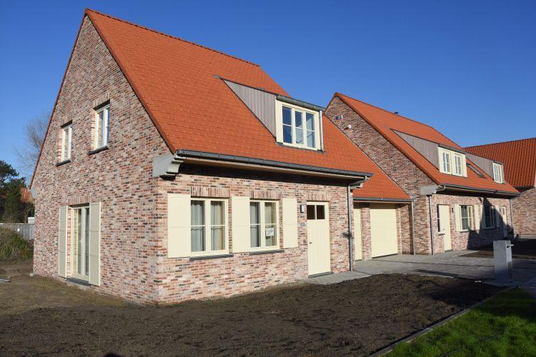 Nieuwbouwvilla's in de Simli wijk van Nieuwpoort 6933