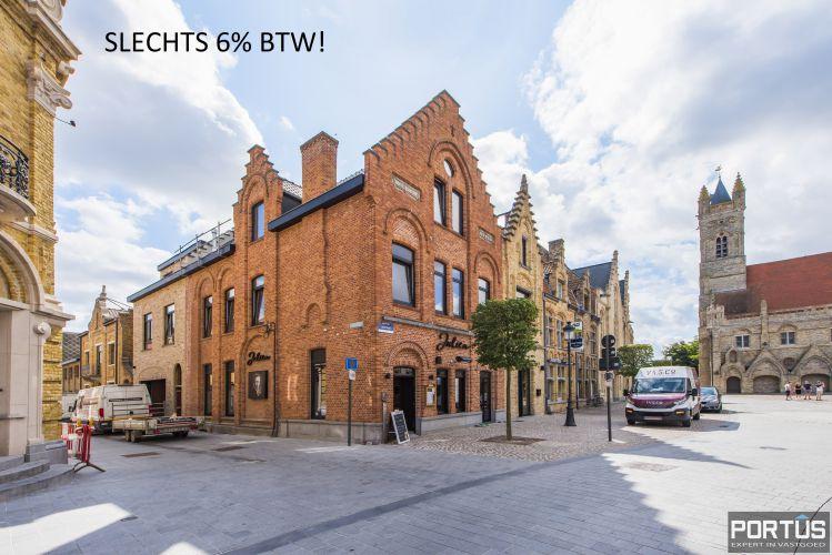 Appartement 3 slaapkamers te koop Marktplein Nieuwpoort 9930