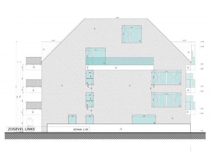 Nieuwbouwappartement met berging en parking te huur 7084
