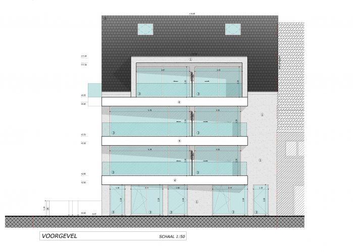 Nieuwbouwappartement met berging en parking te huur 7088