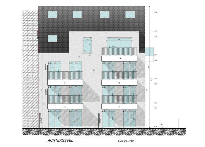 Nieuwbouw duplex-appartement met berging en parking te huur 7107