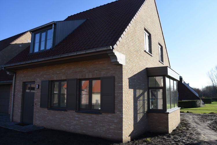 Nieuwbouw woning Gustaaf Buffelstraat Nieuwpoort 8487