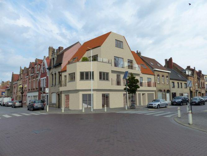 Appartement met 2 slaapkamers en grote zolderruime te koop Nieuwpoort 8599