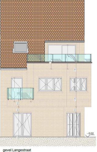 Appartement met 2 slaapkamers en grote zolderruime te koop Nieuwpoort 8600