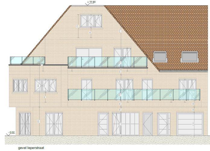 Appartement met 2 slaapkamers en grote zolderruime te koop Nieuwpoort 8601