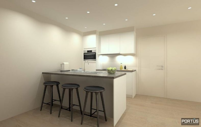 Appartement met 2 slaapkamers en grote zolderruime te koop Nieuwpoort 9130