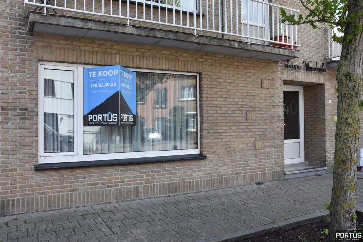 Gelijkvloers appartement met 2 slaapkamers te koop te Nieuwpoort-Stad - 12899
