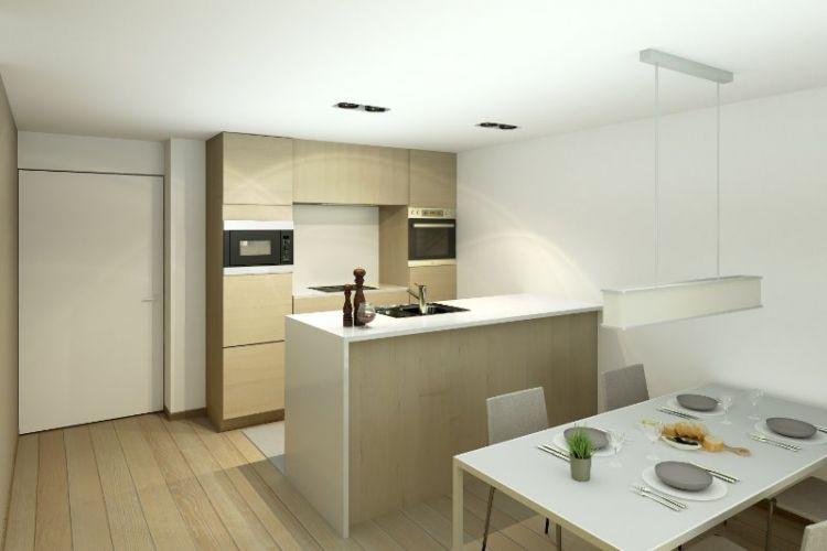 Appartement met terras Nieuwpoort - 3977