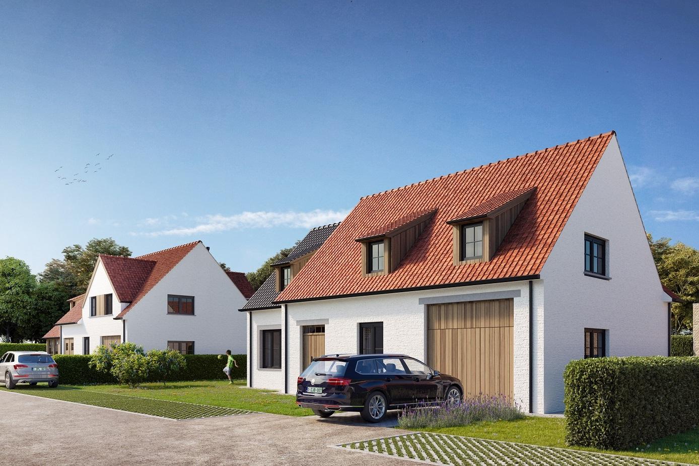 Nieuwbouwproject Het Prinsenhof te koop met eigentijdse nieuwbouwvilla's